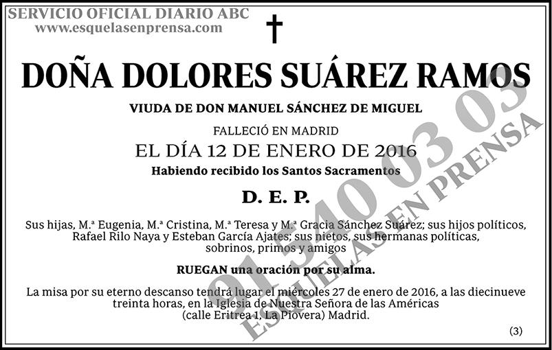 Dolores Suárez Ramos